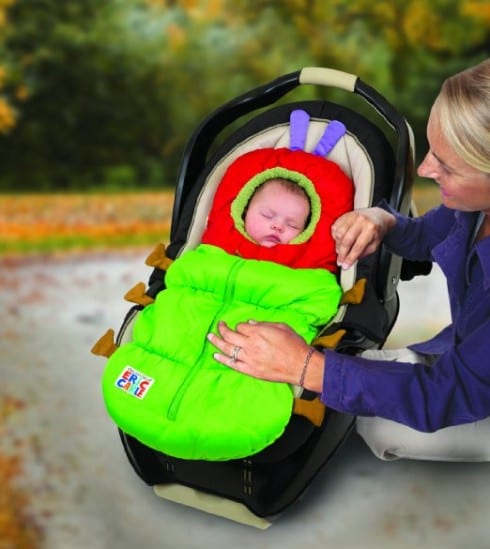 Easy baby costume: Very Hungry Caterpillar
