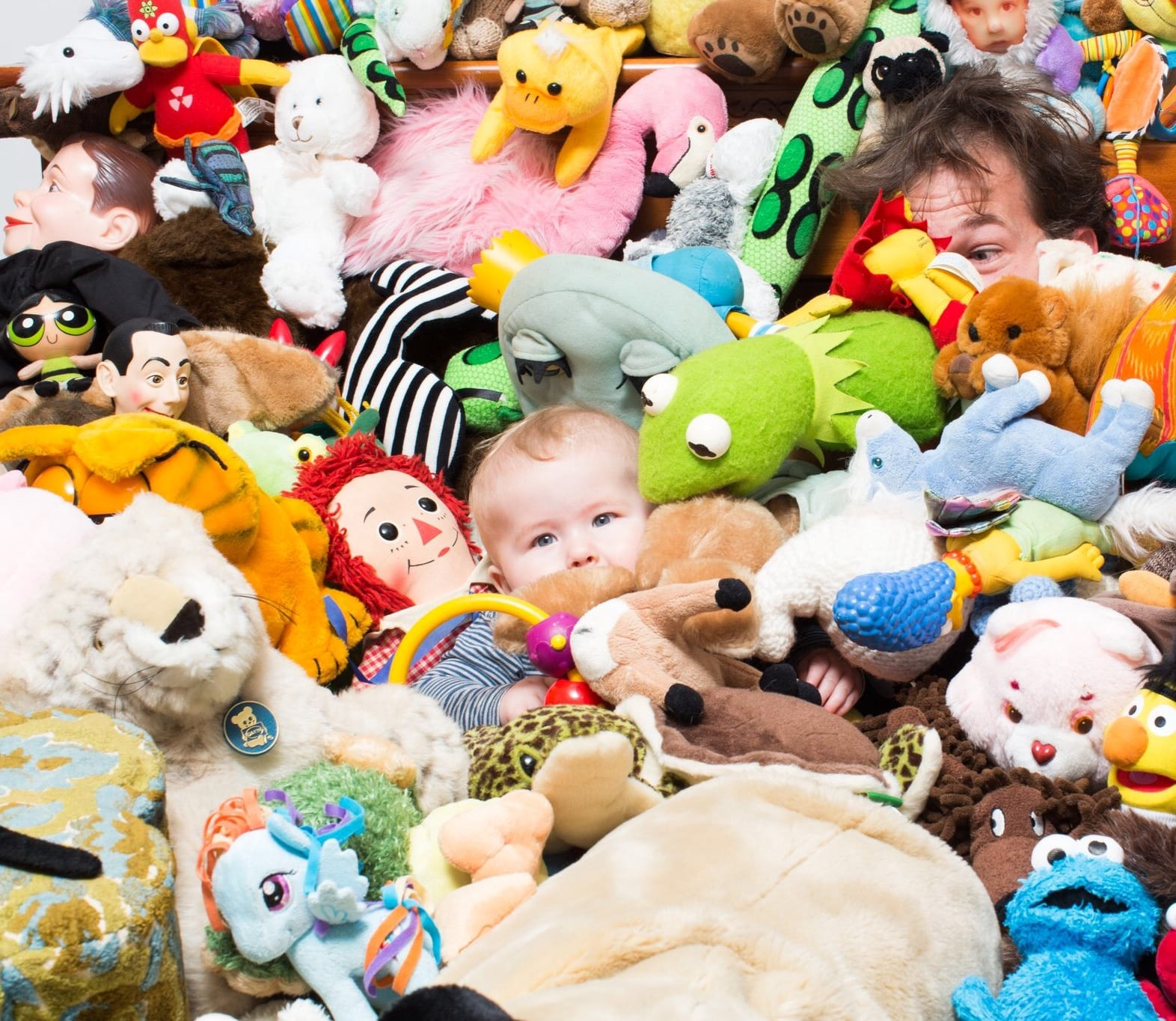 Recreate The E T Stuffed Animal Scene With Your Baby