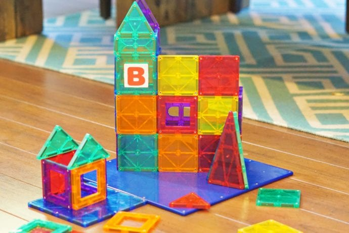 Magnetic Blocks Perfect for Toddlers.