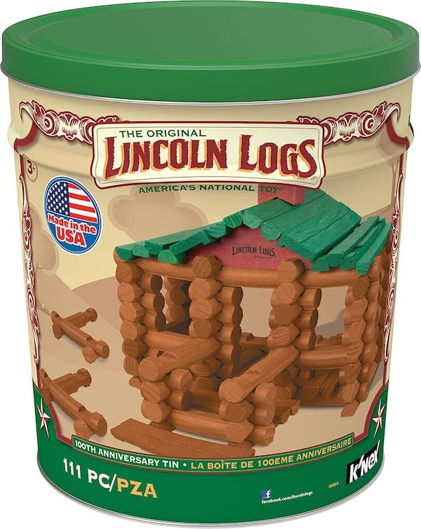 Lincoln Logs - Great gift for two year olds