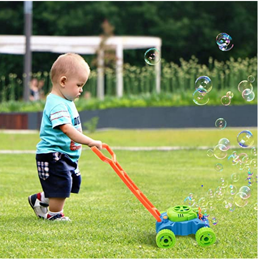 Bubble Mower for 2 year olds
